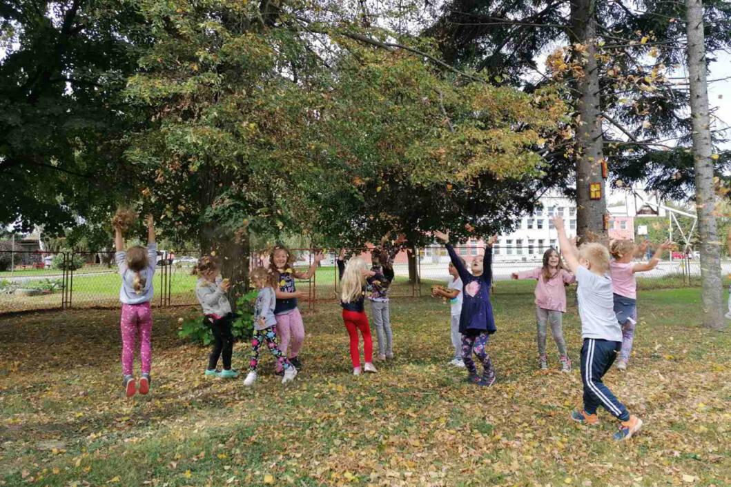 Vrtićarci u Novigradu Podravskom dočekali prvi dan jeseni