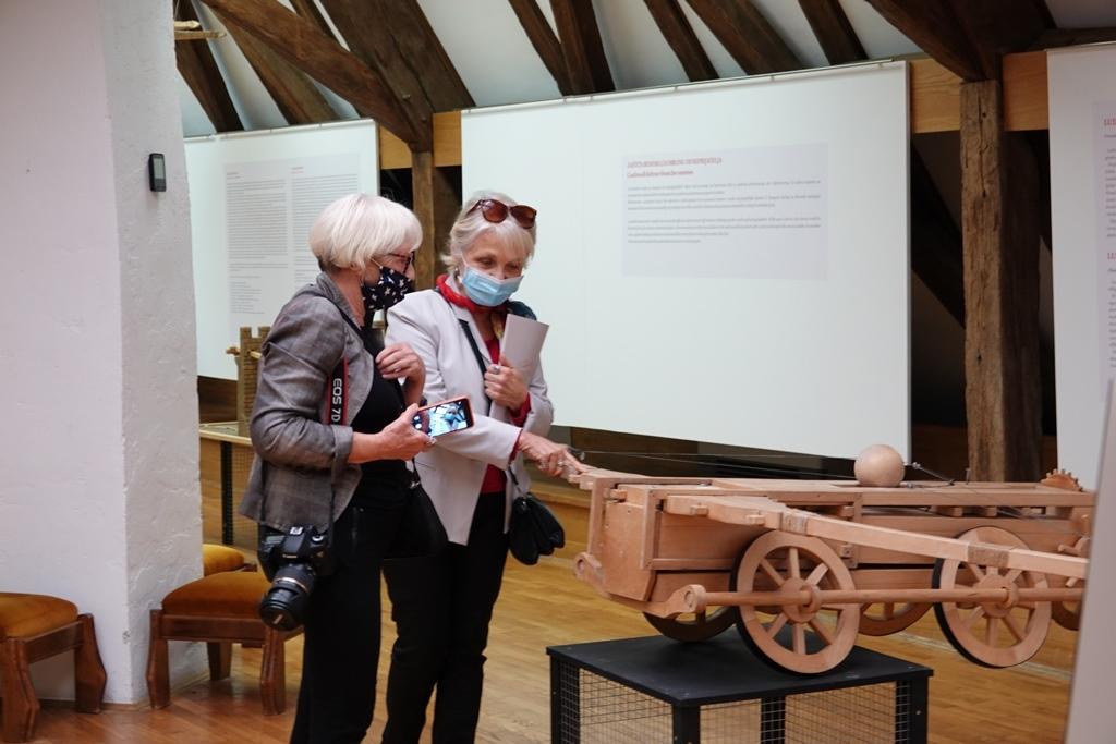 U đurđevačkom muzeju otvorena dugoiščekivana izložba Leonarda da Vincija