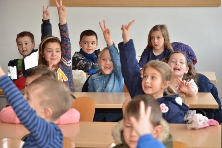 Osnovnoškolci u OŠ Đurđevac