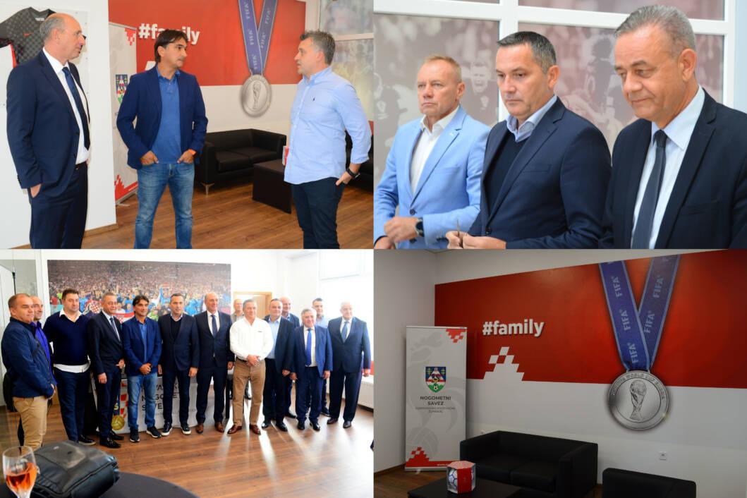 Svečano otvorenje novih prostorija Nogometnog saveza Koprivničko-križevačke županije