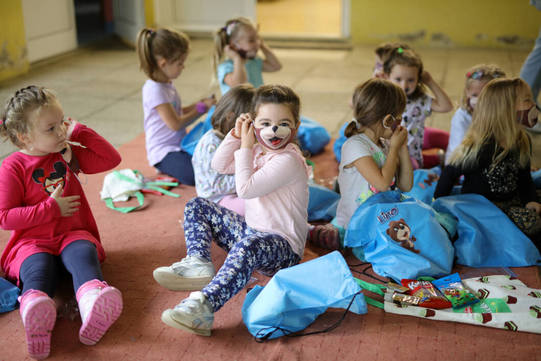 Lino i Kviki paketi za vrtićarce i školarce u Koprivnici