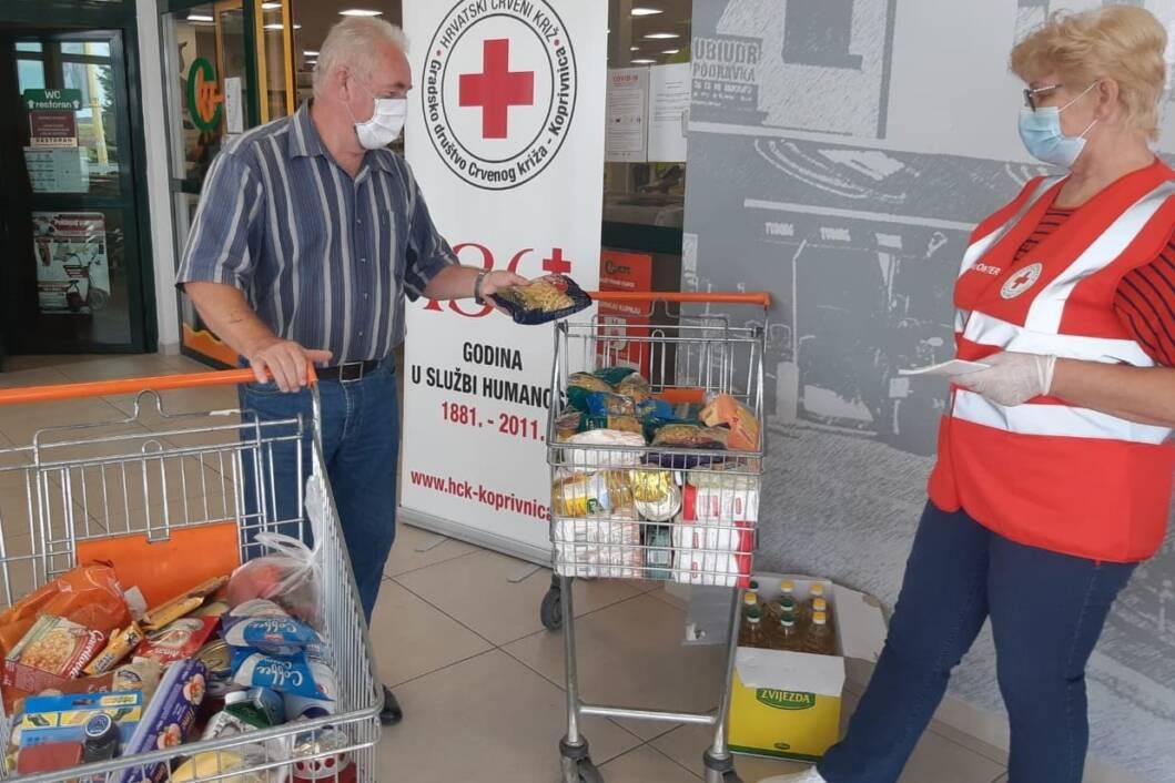 Prikupljanje donacije za Socijalnu samoposlugu u Koprivnici