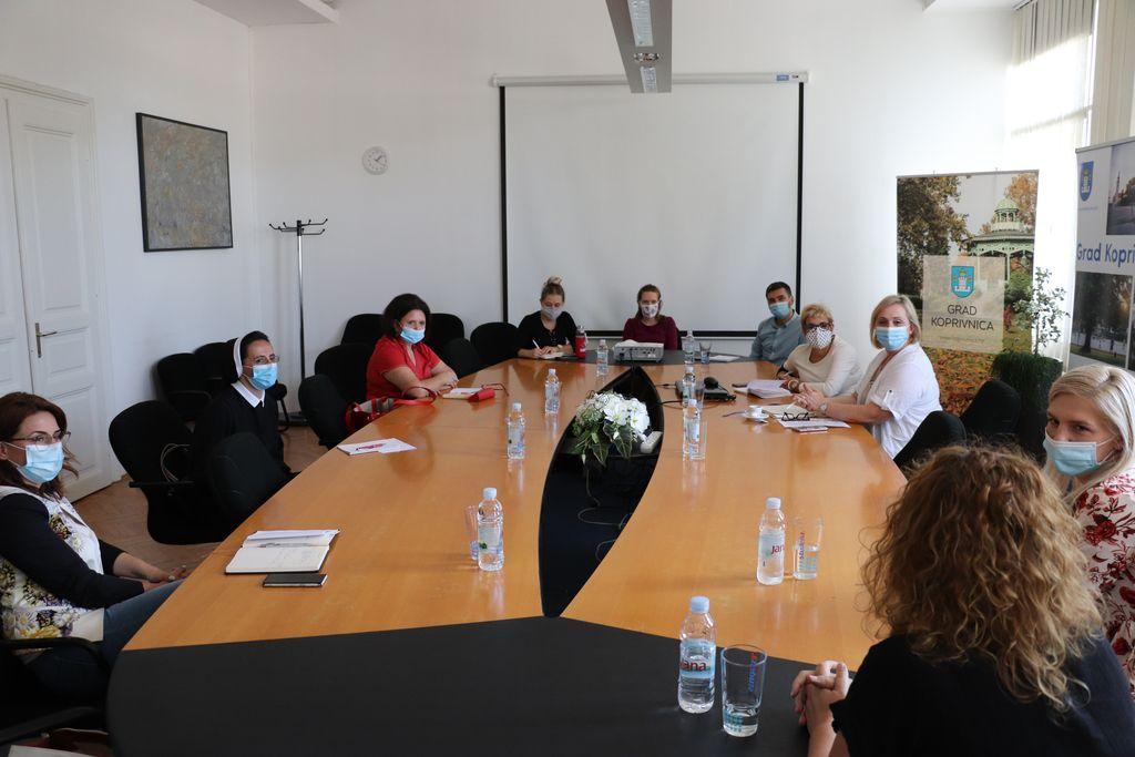 Sastanak s ravnateljicama dječjih vrtića u Koprivnici