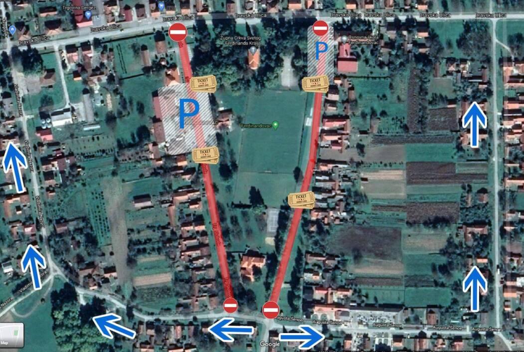 Regulacija prometa u Ferdinandovcu
