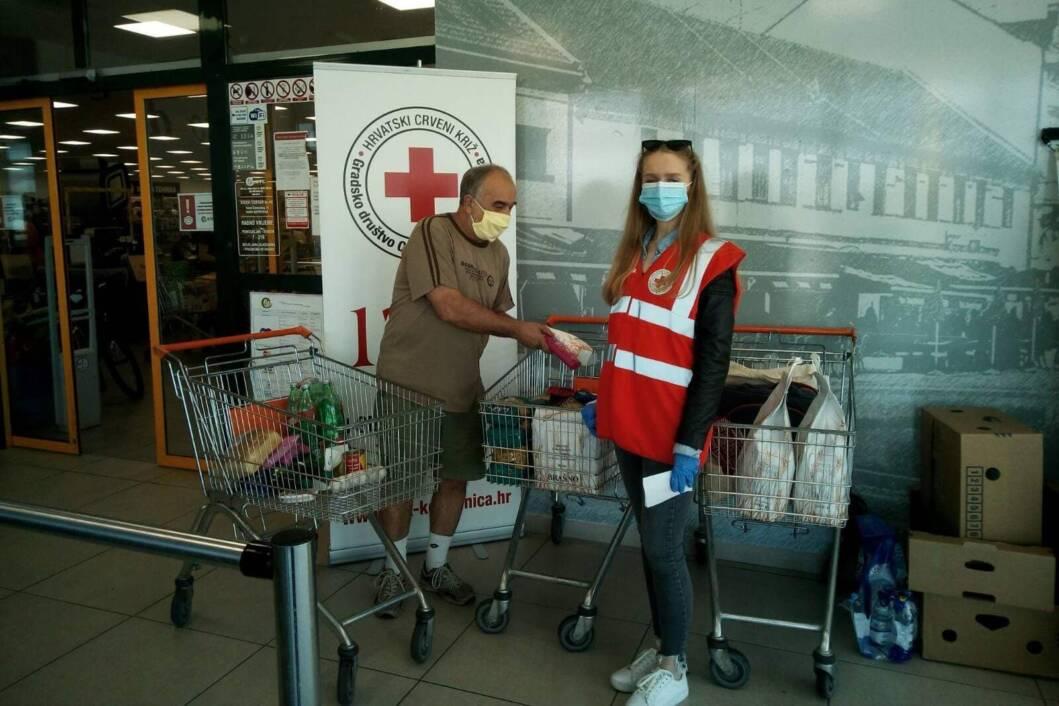Prikupljanje donacija za Socijalnu samoposlugu u Koprivnici