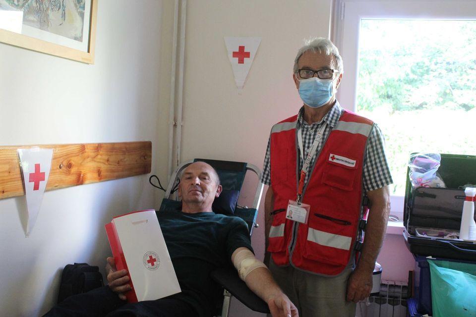 Stjepan Seretin iz Reke dobrovoljni darivatelj krvi