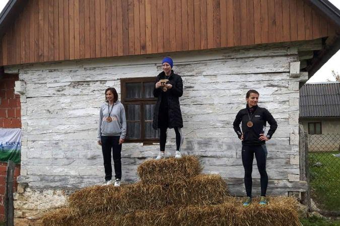 Atletičarka AK Koprivnica Vanja Rupčić zauzela 1. mjesto na Brinje Trail utrci