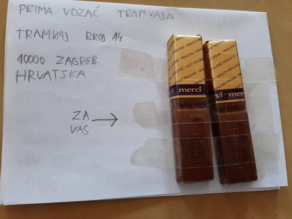 Čokoladice za vozača tramvaja