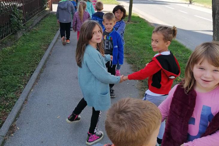 Vrtićarci dječjeg vrtića Fijolica u Novigradu Podravskom