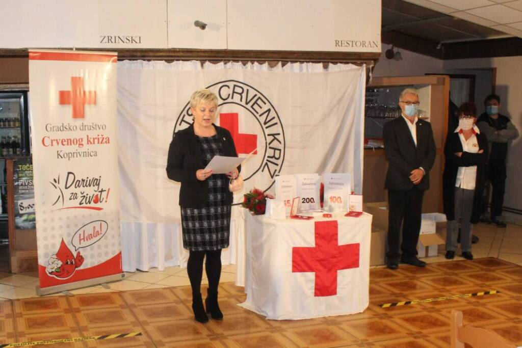 Adela Sočev, ravnateljica koprivničkog Crvenog križa