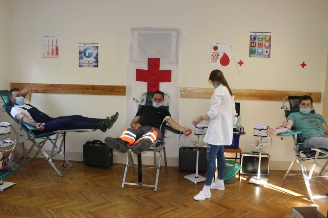 Akcija dobrovoljnog darivanja krvi u Koprivnici