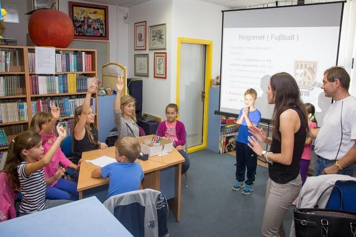 Djeca u đurđevačkoj knjižnici