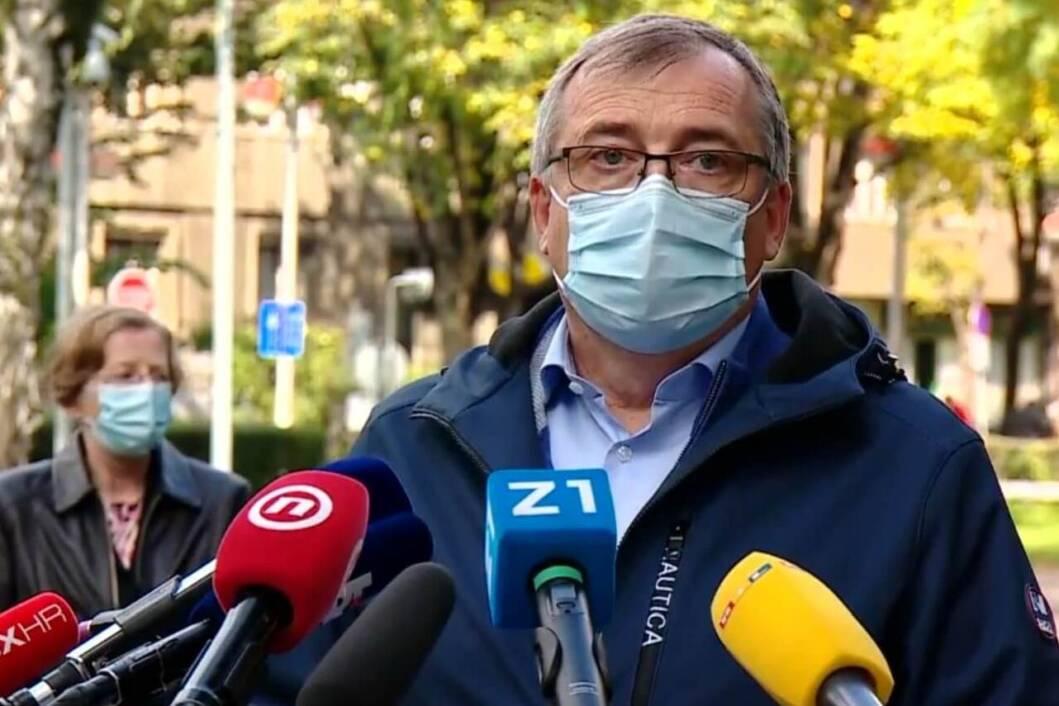Ravnatelj Hrvatskog zavoda za javno zdravstvo Krunoslav Capak