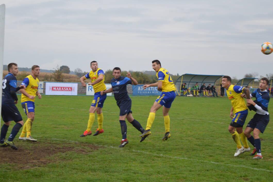 detalj s utakmice između Miklinovca i Mladosti iz Sigeca