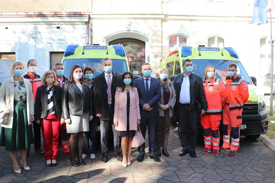 Zavod za hitnu medicinu u Koprivničko-križevačkoj dobio nova vozila