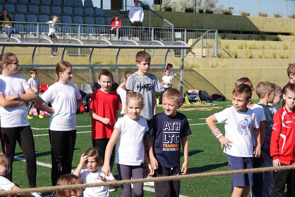 Veselim igrama mališana na đurđevačkom ŠRC-u obilježen sportski dan