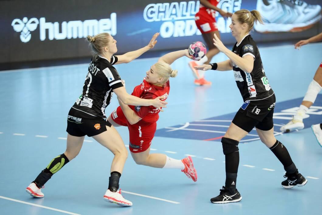 Detalj s utakmice između Podravke Vegete i Odensea