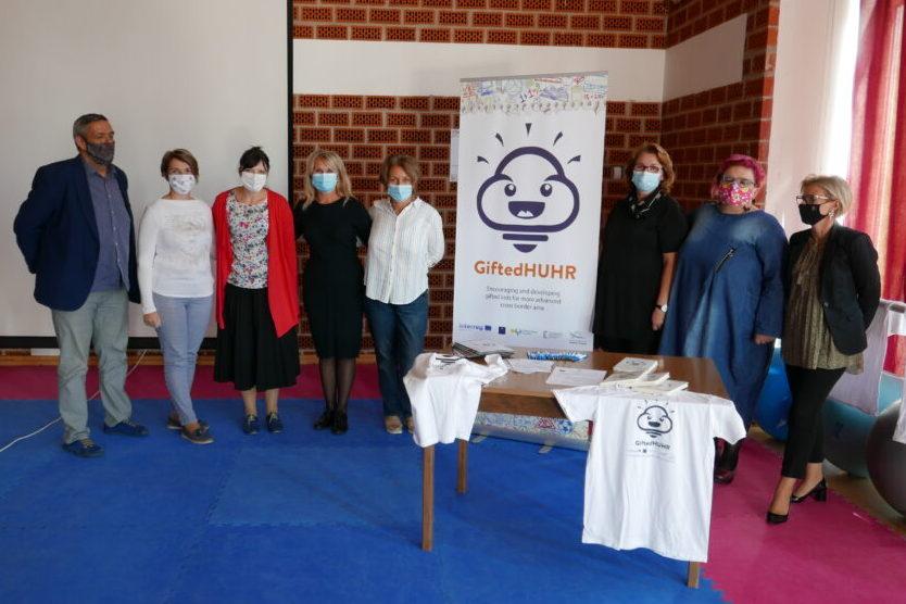 U đurđevačkoj Školi održana međugranična edukacija u sklopu projekta za darovite učenike