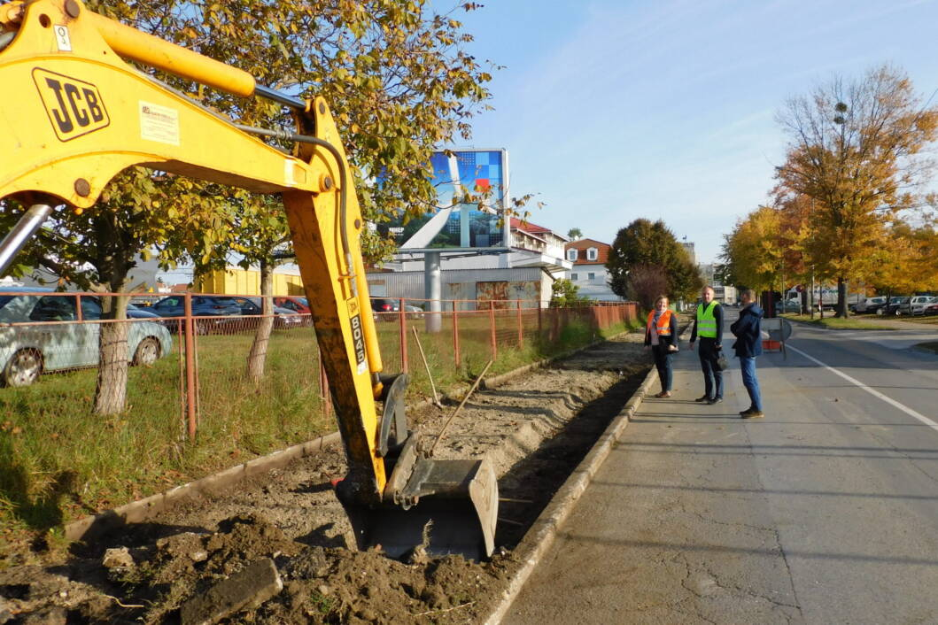 Rekonstrukcija vodovodne mreže u Kolodvorskoj ulici u Koprivnici