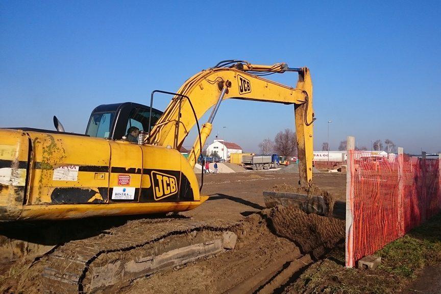 Radovi na izgradnji ceste i komunalne infrastrukture u poslovnoj zoni A-sjever u Đurđevcu