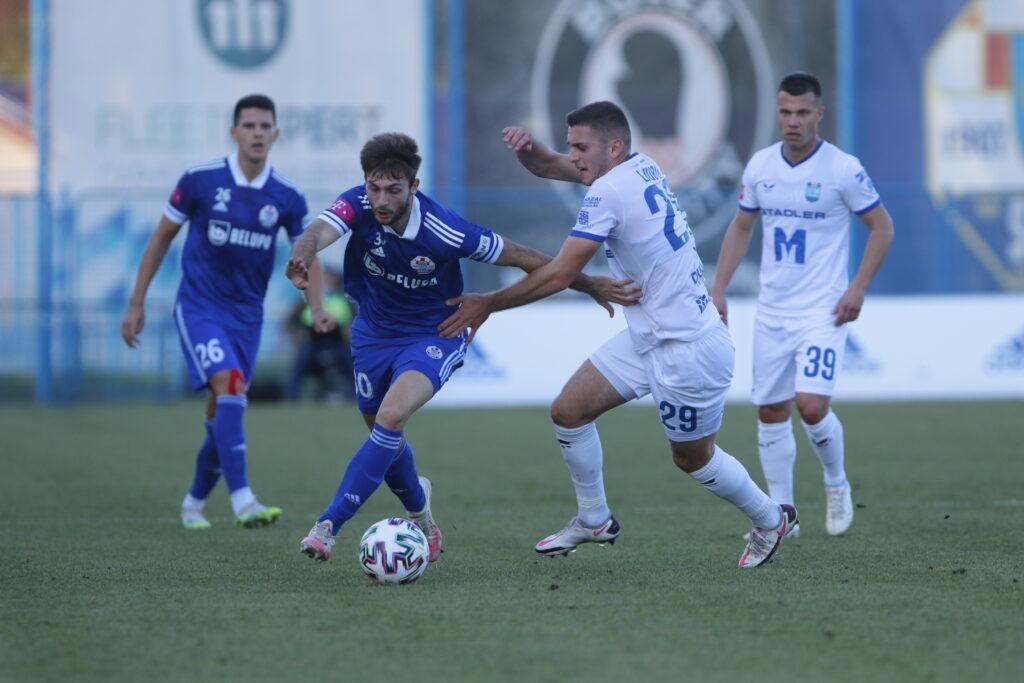 detalj s utakmice između Slavena Belupa i Osijeka