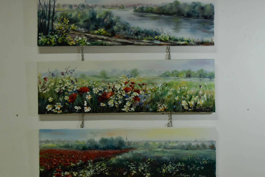 Samostalna izložba slika Marije Stipan