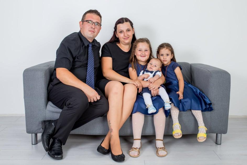 Sretna obitelj Hatlak iz Novog Sela Rok