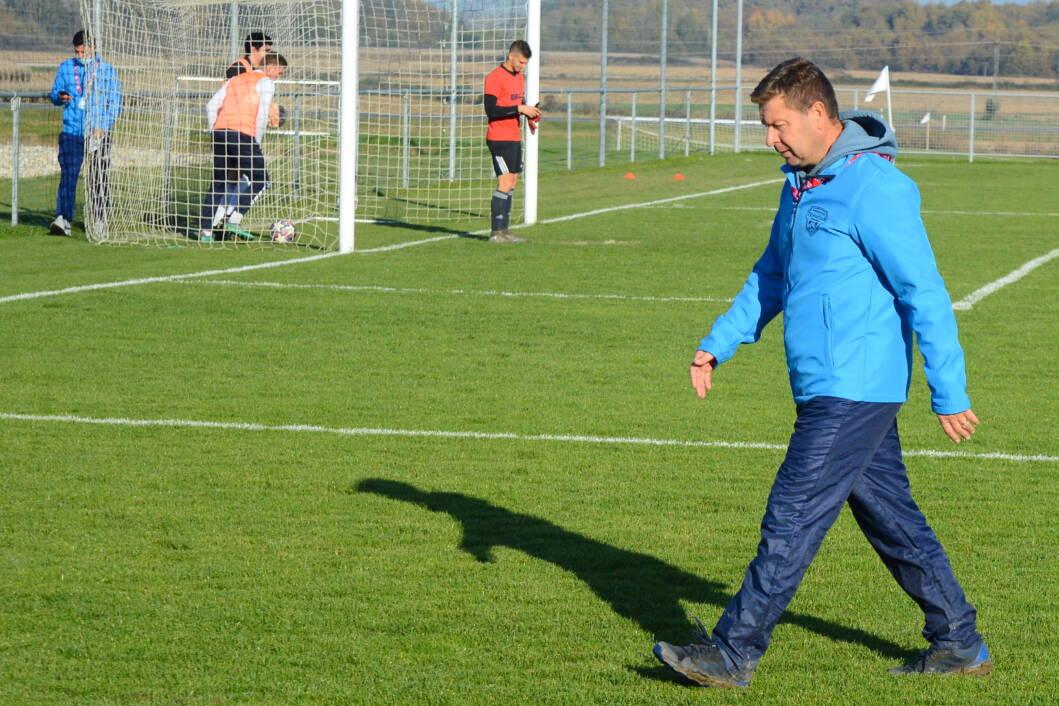 Trener Tehničara iz Cvetkovca Roman Sović