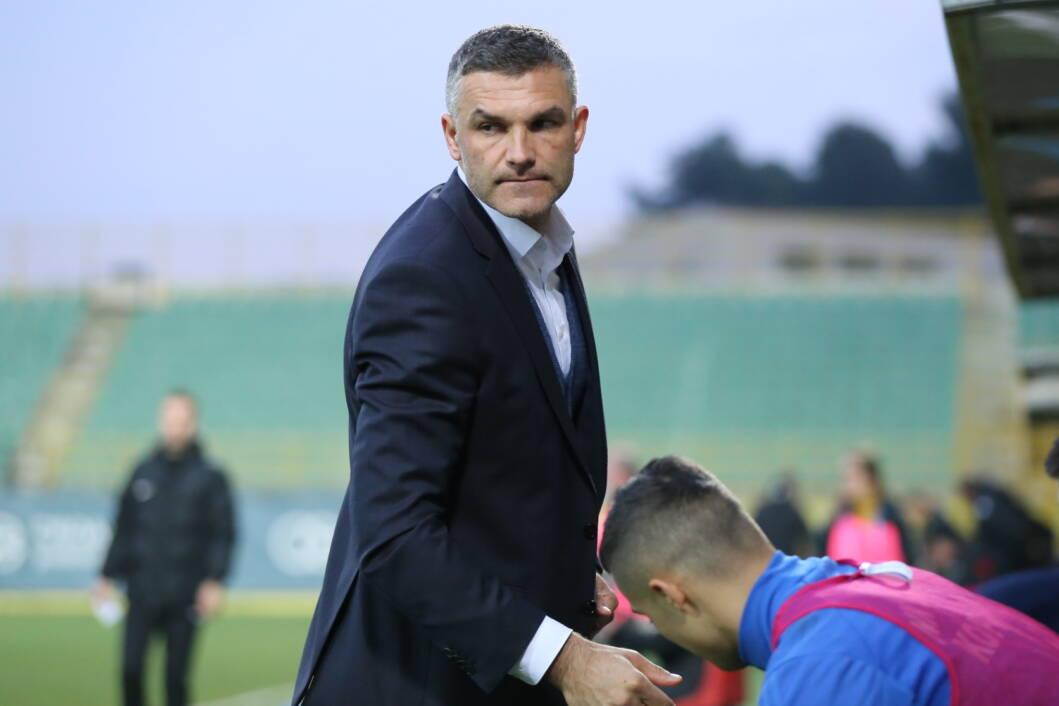 Trener Slavena Belupa Tomislav Stipić // Foto: NK Slaven Belupo