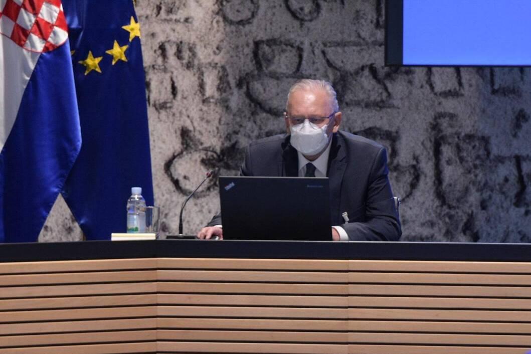 Ministar unutarnjih poslova Davor Božinović