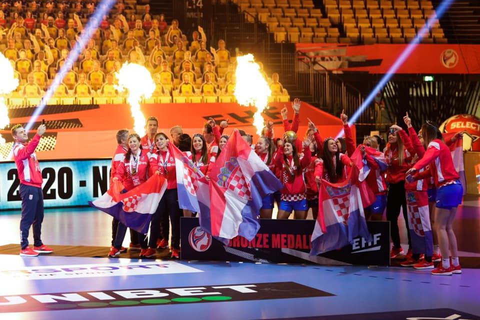 Hrvatske rukometašice osvojile su brončanu medalju na Europskom prvenstvu
