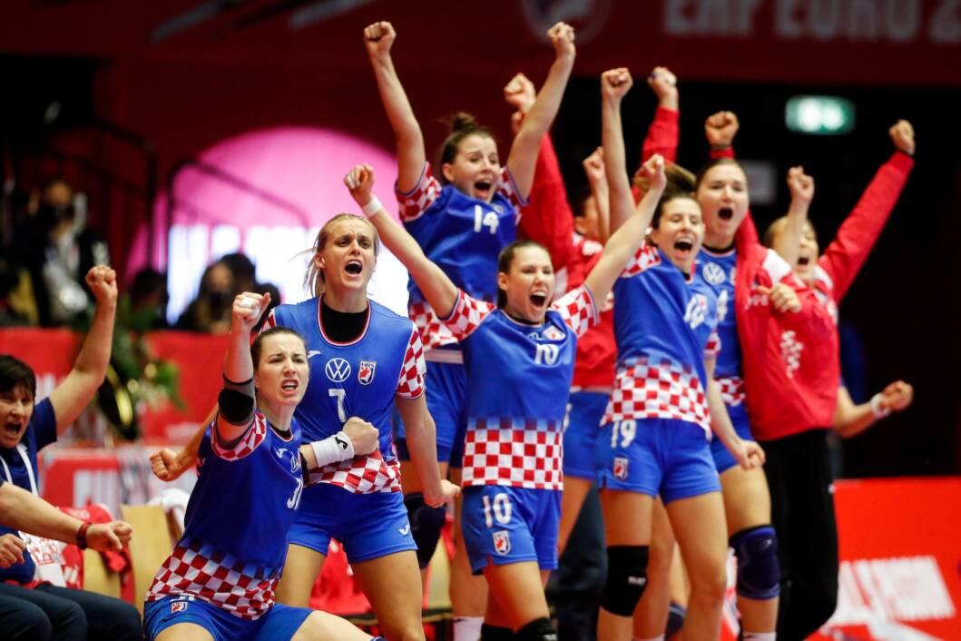 Veliko slavlje hrvatskih rukometašica na Europskom prvenstvu