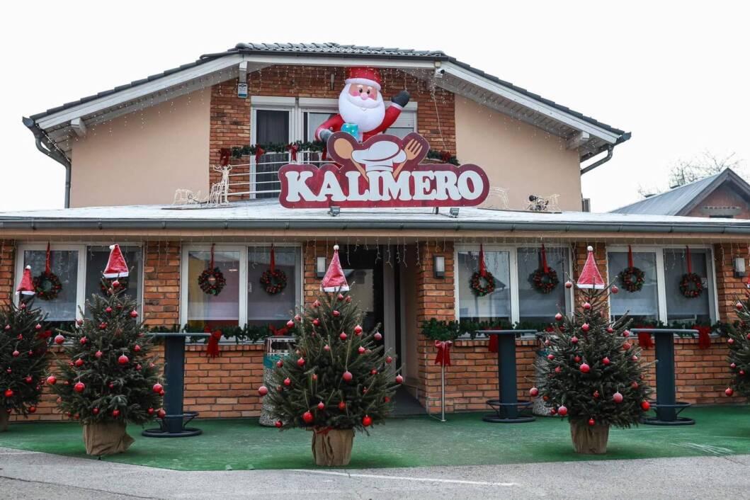 Restoran Kalimero u božićnom ugođaju