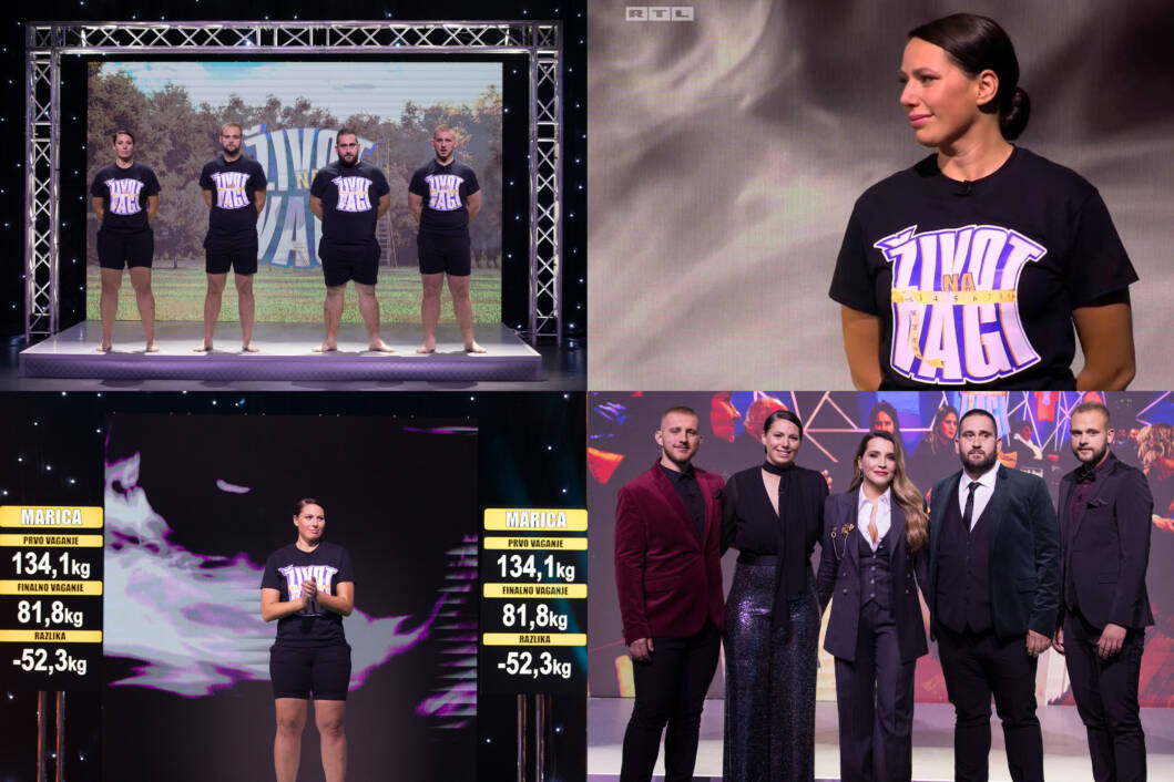 Marica korolija bila je sjajna u showu 'Život na vagi' // Foto: RTL