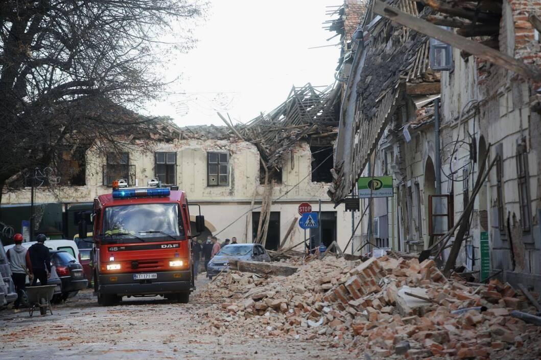 Razoran potres u Petrinji