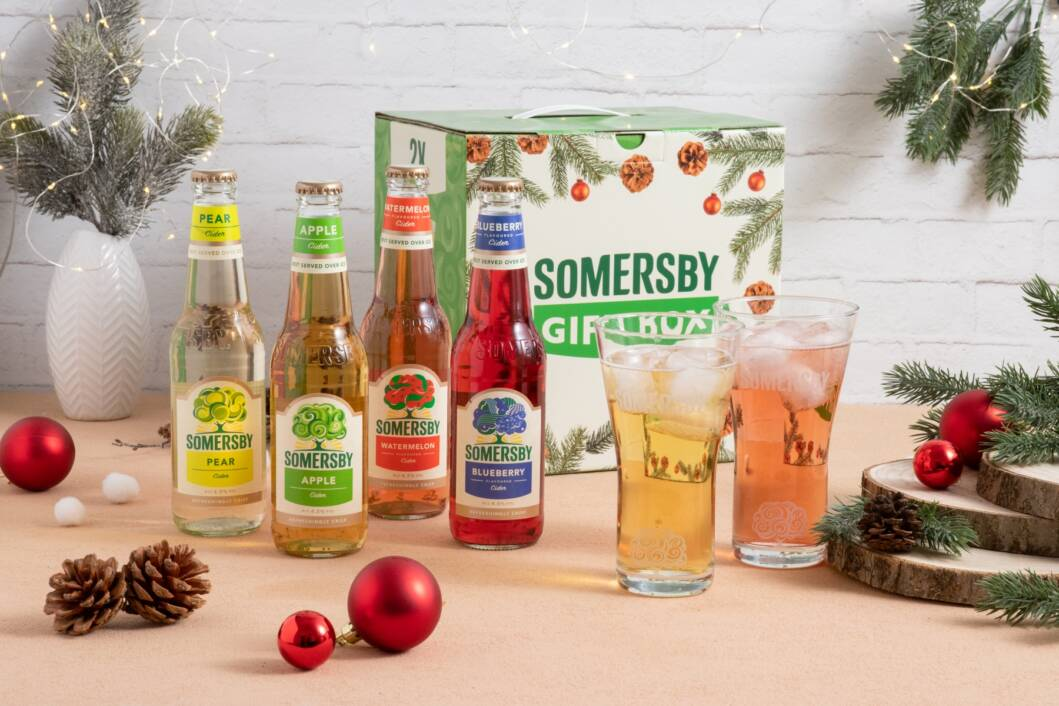 Somersby gift box promo