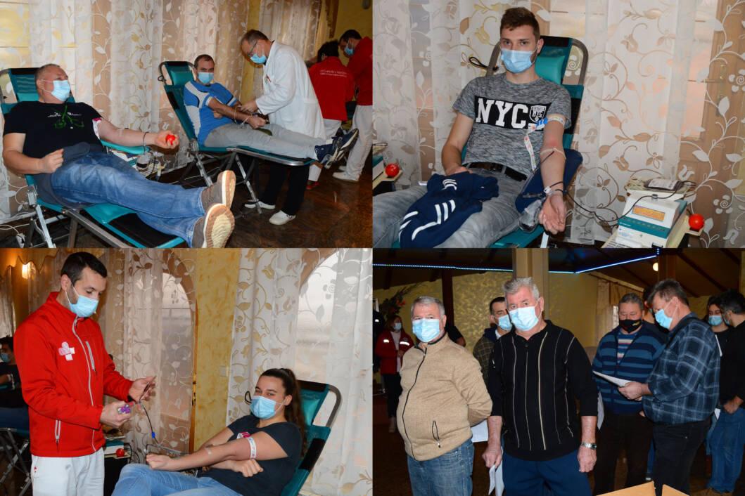 Akcija dobrovoljnog darivanja krvi u Svetom Petru u općini Mali Bukovec