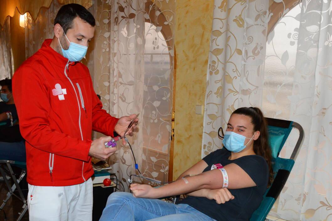Akcija prikupljanja krvi u Svetom Petru