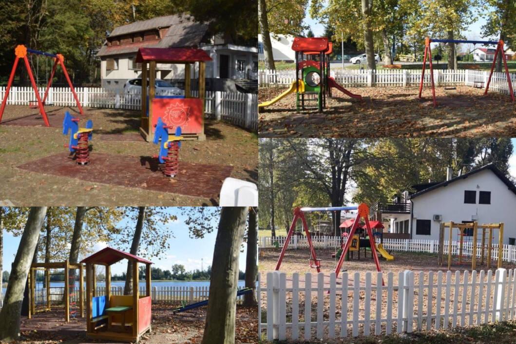 Nova dječja igrališta na jezeru Šoderica