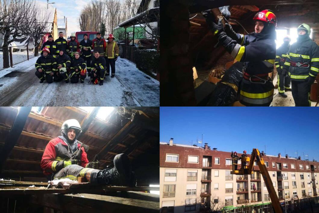 Dobrovoljni vatrogasci iz Koprivničkog Ivanca i Pustakovca