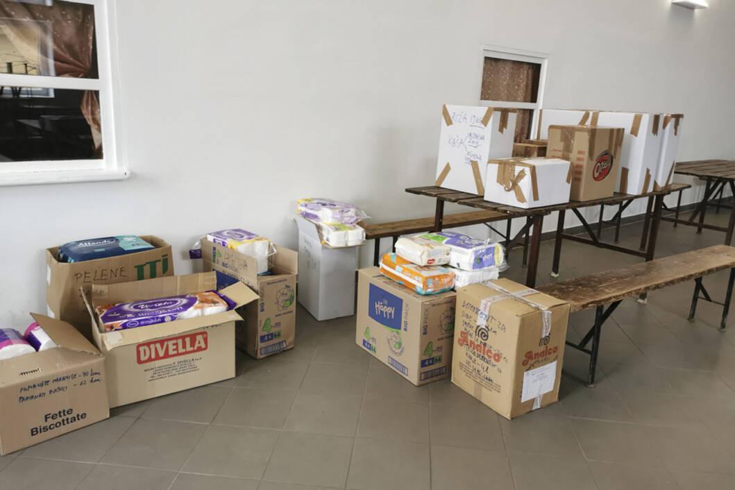 Donacije za stanovništvo pogođeno potresom