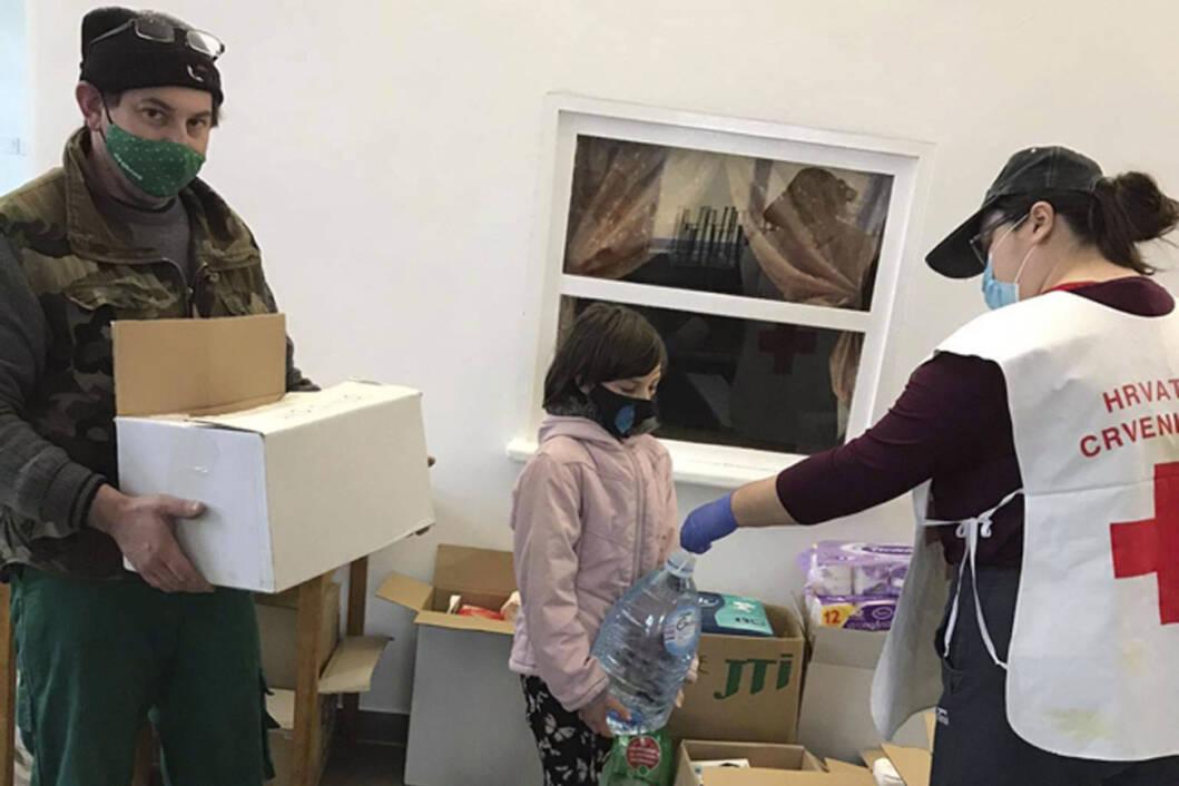 Prikupljanje donacija za stanovništvo pogođeno potresom