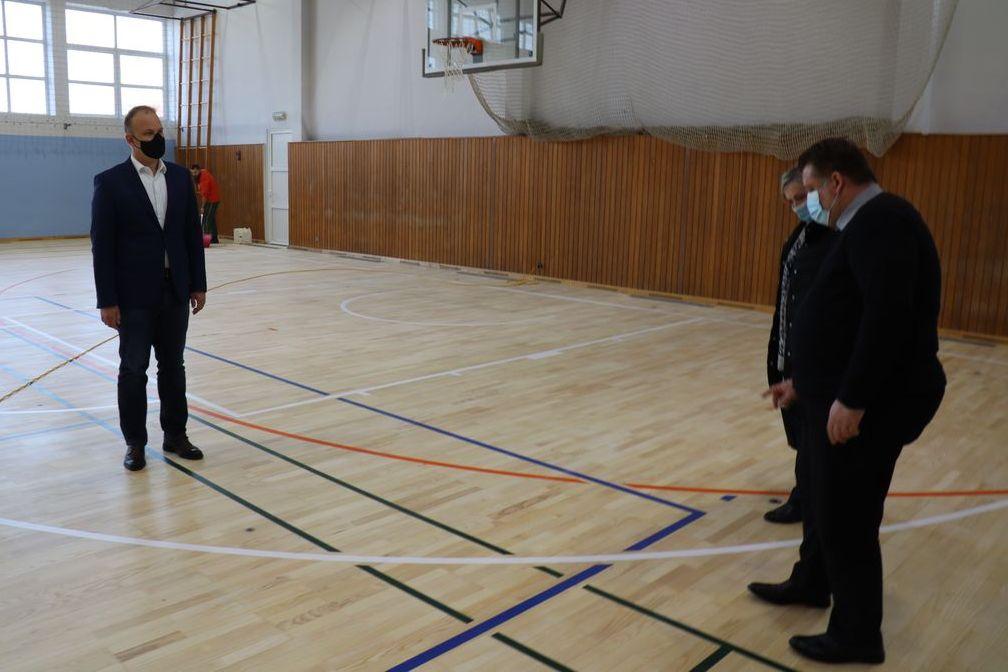 Dvorana Osnovne škole Braća Radić u Koprivnici zasjala je u novom ruhu