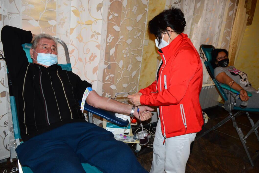 Dobrovoljni darivatelj krvi Franjo Mužic iz Svetog Petra