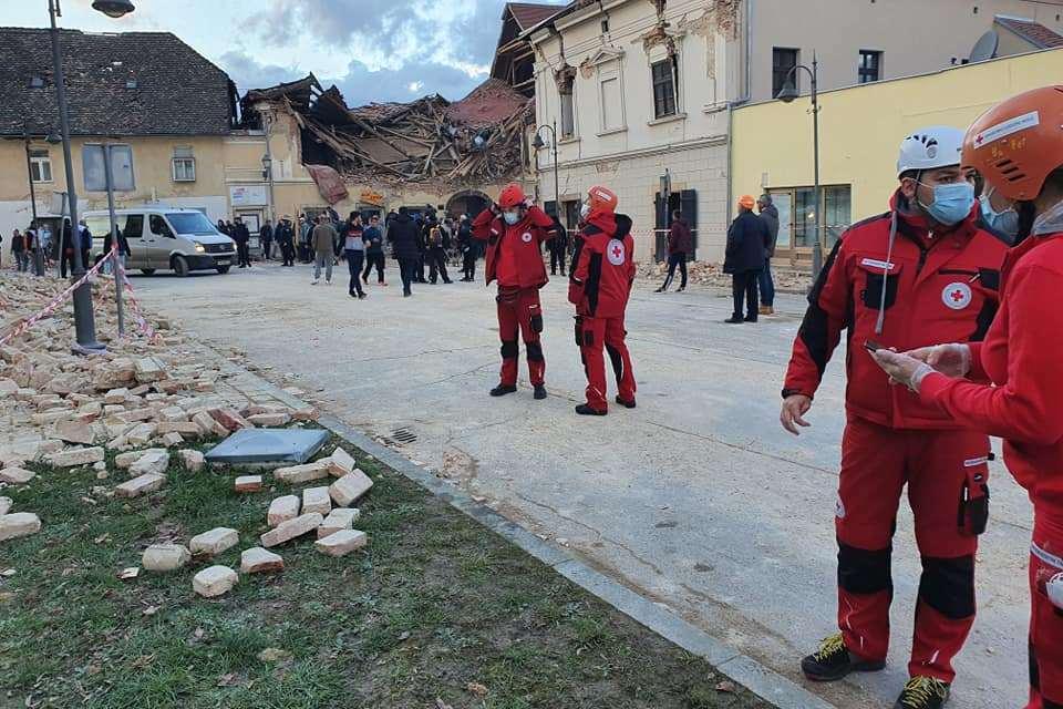 Djelatnici Crvenog križa na terenu