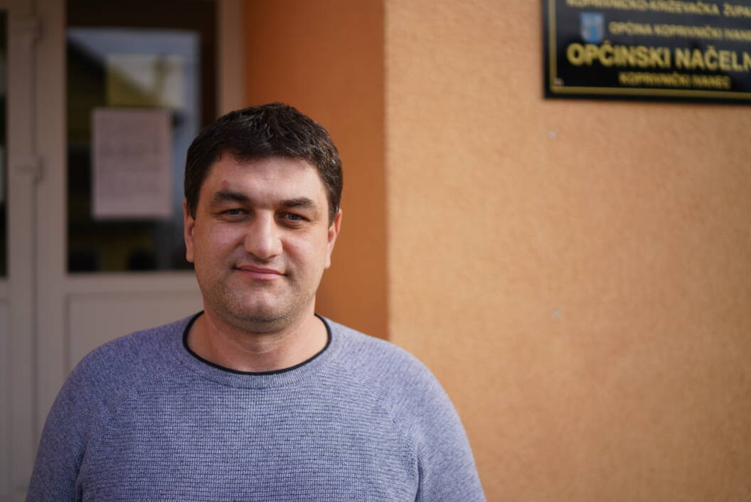 Načelnik Općine Koprivnički Ivanec Mario Švegović // Foto: Luka Krušec / LuMedia