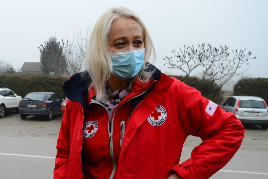 Mirjana Jerbić, ravnateljica ludbreškog Crvenog križa