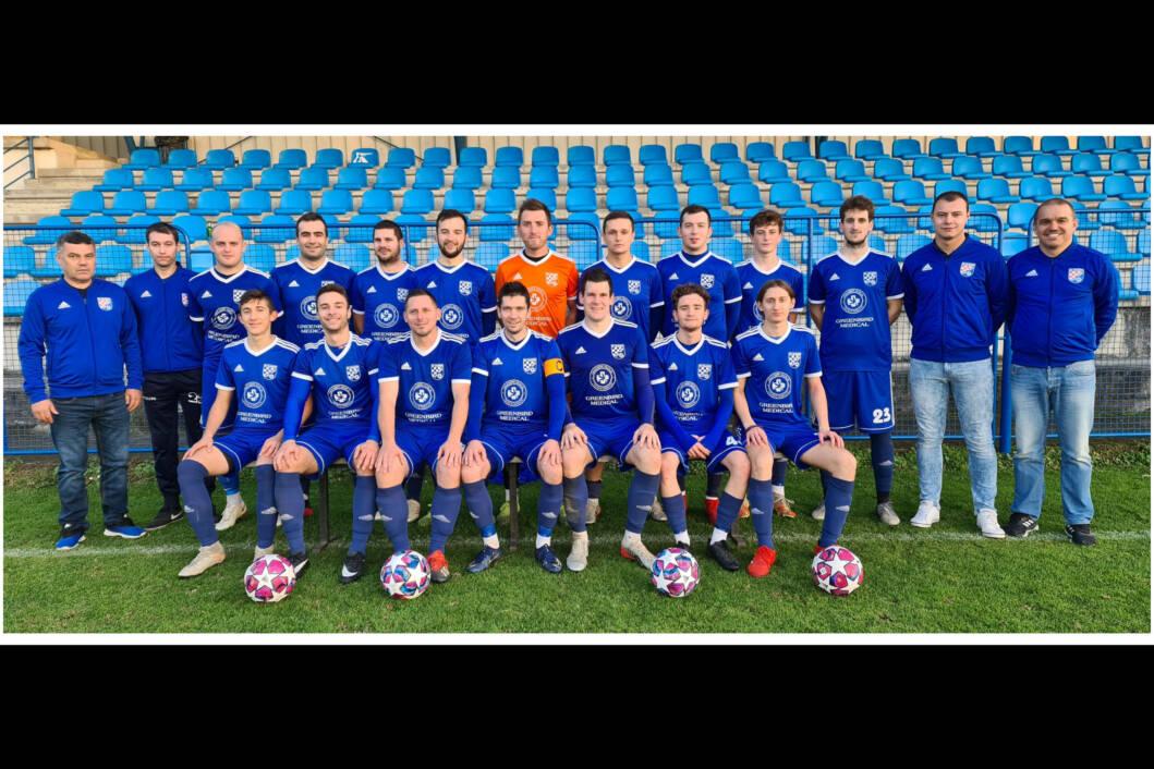Nogometaši i vodstvo NK Mladosti iz Molvi
