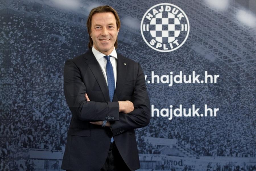 Paolo Tramezzani, trener Hajduka
