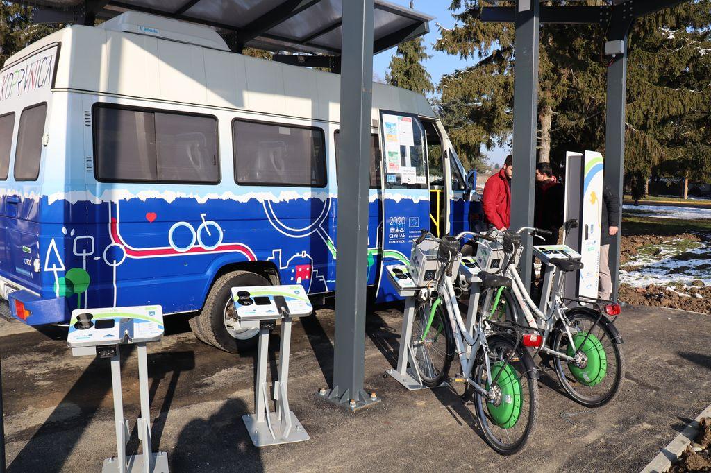 Nova punionica za električne autobuse i bicikle u koprivničkom kampusu